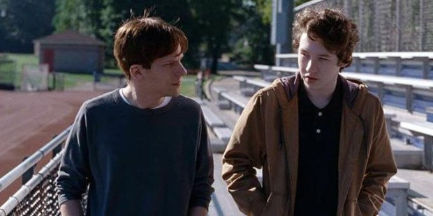 Jesse Eisenberg and Devid Druid in Louder Than Bombs