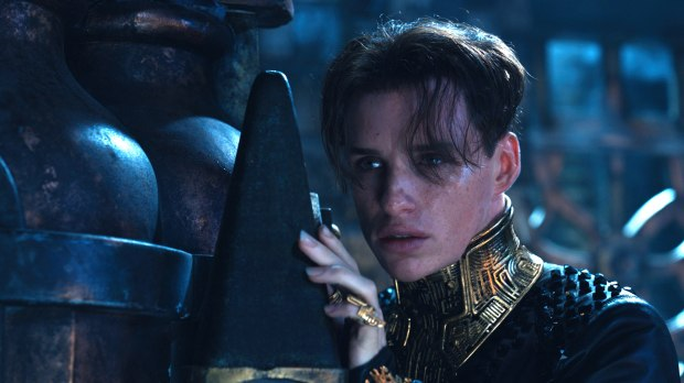 Eddie Redmayne in 'Jupiter Ascending'